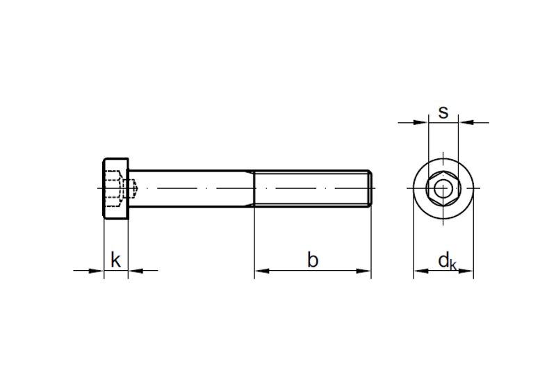 25 Stk Zylinderschrauben DIN 6912 M12 x 60 mm verzinkt Stahl 8.8 galv