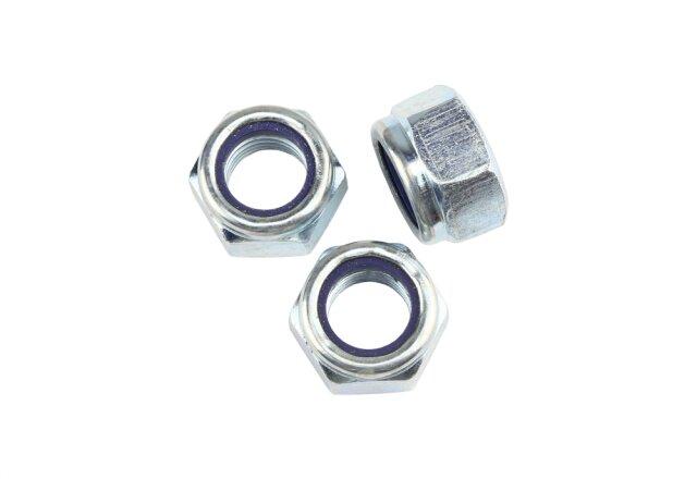 DIN 985 Sicherungsmuttern M12 - Stahl verzinkt - Festigkeit 10
