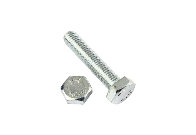Sechskantschrauben mit Gewinde bis Kopf DIN 933 10.9 Stahl galv verz get M12-M16