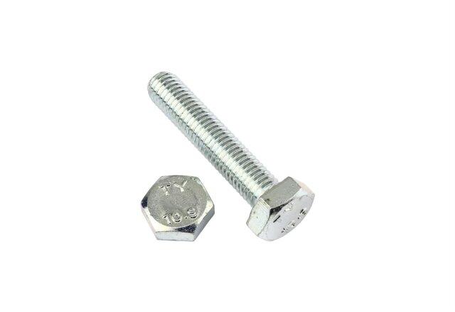 5 Stk Sechskantschraube DIN 933 10.9 M12 x 100