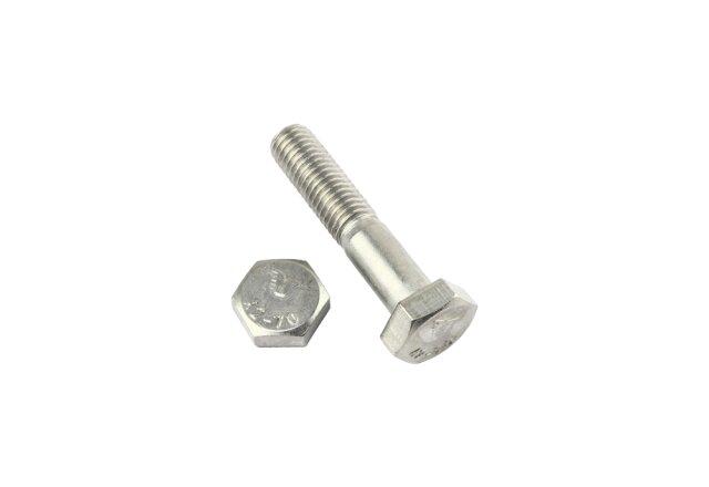 ISO4014 M 8x 50 Edelstahl A2-70 Sechskantschraube mit Schaft DIN 931