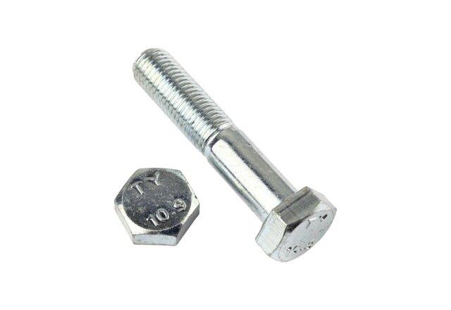 50 Feingewinde Sechskantschrauben DIN 960 10.9 M12x1,5x100