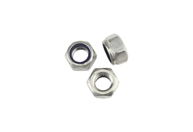 DIN 985 Locking Nut Stainless Steel A2