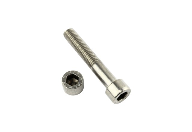 10 Zylinderkopfschrauben M10 x 80 Edelstahl mit Innensechskant Zylinderschrauben DIN 912 A2