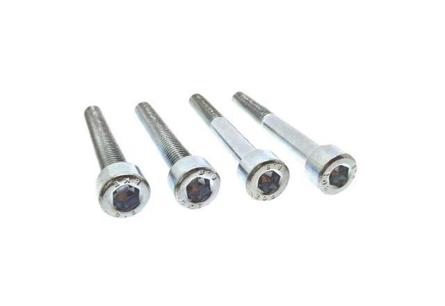 Zylinderschraube DIN 912 - M10 x 12 mm - Stahl 8.8 galv. verzinkt